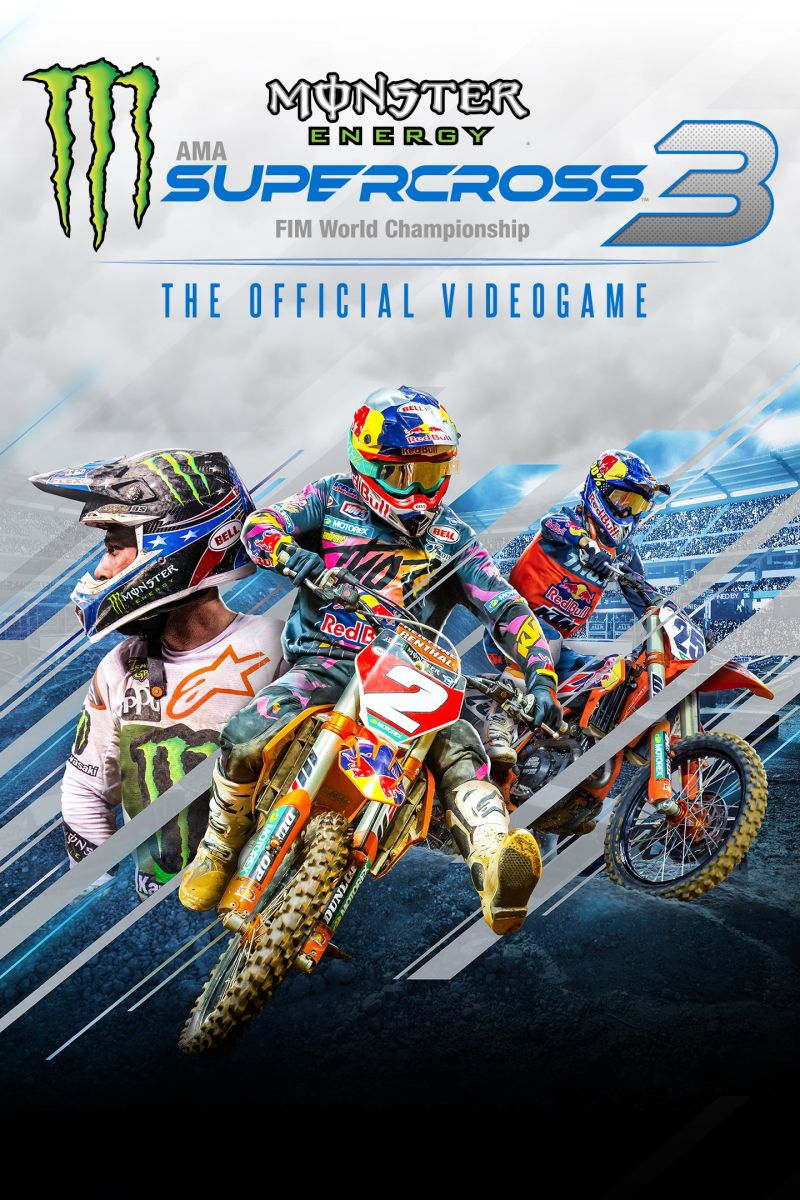 Monster Energy Supercross 3 - box art